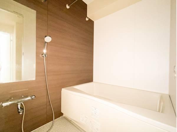 1日の疲れを取り心身を癒すことができる住まいの中のリラクゼーション空間、バスルーム。