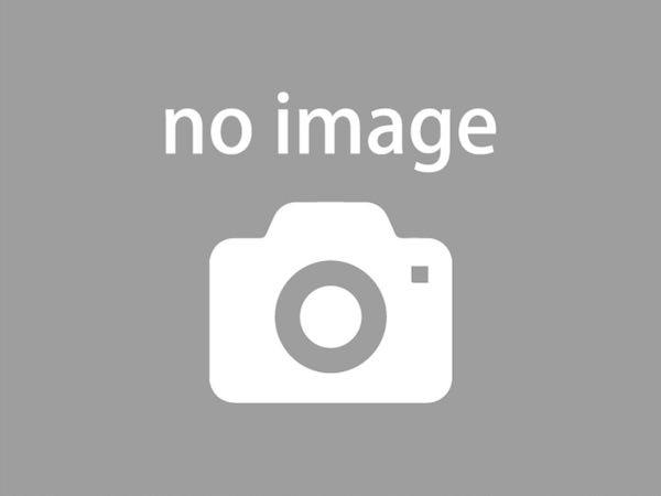 システムキッチンと同シリーズの収納棚を背面に設置済み。統一感のあるキッチンスペースは美しく、機能性も良好です。
